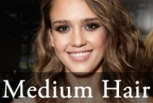Medium Hairstyles - Popular Shoulder Length Hairstyles / Medium Hairstyles 2014: Latest medium shoulder length hair styles / by Hairstyles Weekly