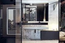 Bathrooms / by Born & Bred Studio
