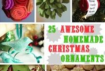 Homemade Christmas Ornaments / by Lisa (Wine & Glue)