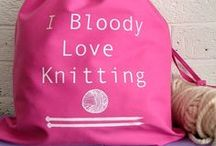 knitting / by Mandi Withycombe
