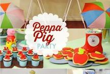 Boy's Television Show Inspired Party / TV | duck dynasty | peppa pig  | boy | birthday | party | ideas | cake | decorations | themes | supplies | favor | invitation | cupcakes | cakepops / by Spaceships and Laser Beams