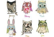 Owl Love / by Cecilia Huerta