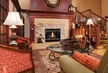 CX Lobbies / Country Inns & Suites  Lobbies with 2-story fireplaces / by Ann Abel
