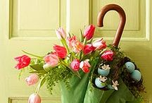 SPRING TIME-EASTER & HARES / SPRING TIME-EASTER & HARES, Spring grass, daffodils, tulips & spring bulbs. Celebration. Decoration and Craft ideas. / by Susan Tolman Schreiber