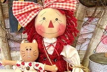 Rag dolls / by Audrey Overbaugh