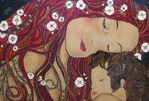 art-Klimt Gustav / by Iqbal Gulati