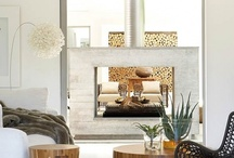 Fireplaces / by Weruschca Kirkegaard
