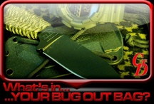 What's In YOUR Bug Out Bag? / aka Personal Emergency Relocation Kit or a PERK / by Cheaper Than Dirt!