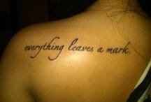 Tattoos / by Darlene Cook