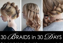 30 Braids in 30 Days / All the styles from the second Hair Romance ebook - 30 Braids in 30 Days - available from www.hairromance.com/30-braids-30-days / by Hair Romance
