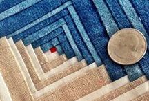 Quilting with denim / by Carol Sadowsky