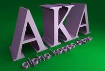 Alpha Kappa Alpha / This board is for my partner in Holy Matrimony and my mother in law.   / by Wilfred Bentley