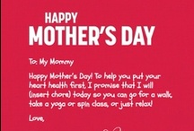 Mother's Day Gift Guide 2013 / A collection of heart healthy gift ideas for Mother's day.  / by The Heart Truth