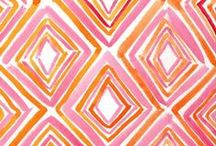 Pink and Orange / by Horchow