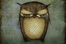 owls / by Anita Vicente