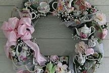 Shabby Romantic Wreaths / by Vickie Miller