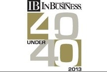 40 < 40 (and) 7 > 70 Honorees / 40 Professionals Under 40 and 7 Professionals Over 70 impacting the Greater Madison community  / by In Business Magazine and Events