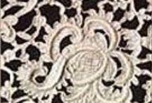 Lace / Needle, bobbin, crochet lace / by Textile Travel