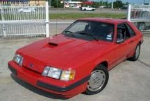 1986 Ford Mustangs / 1986 Ford Mustangs / by StangBangers