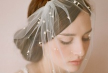 Veils, Headpieces and Hair Accessories / Wedding Veils, Headpieces, bird cage veils, hair pins, headbands, vintage styles / by SmartBrideBoutique.com
