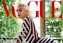 cool. / ska queen turned style icon, gwen stefani / by Russell Allen