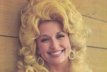 Dolly.  / my first crush was Dolly Parton, I was 4 and she was probably pushing 50 - and she is still gorgeous today / by Russell Allen