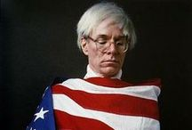 "/warhol// / ""pop art is for everyone"" / by Russell Allen"
