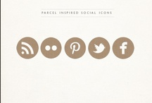 Social Media Icons / by Elisa Sept