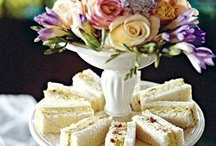 """An Afternoon Tea Party / """"There are few hours in life more agreeable than the hour dedicated to the ceremony known as 'afternoon tea'."""" ~ Henry James / by Elizabeth Finney"""