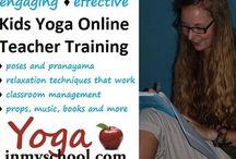 Yoga Teacher Training / by Yoga In My School