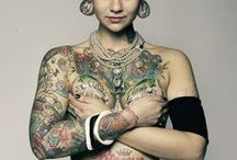 Tattoos..... / by Sonia Meyer