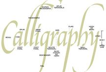 Calligraphy and knot work / by Michelle Smith