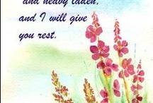 Encouraging Bible Verses / by Simple Sympathy