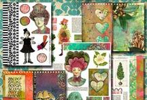 Art Journal Printables / by Debbie-Anne Parent
