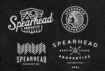 Logo Design Inspiration / Lots of ideas for cool and cute logo designs to help find you find some art direction for branding projects. / by Hearts and Laserbeams
