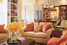 family room / by Janet Stinchcomb