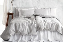 Bedrooms, sleeping quarters. / Peacefull bedrooms, with lovely light. / by Marisol Ortiz