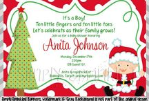 Kealie and Baby Maddox's Shower / December 6th. Christmas Snowman theme  / by Karen Wallace-Befort