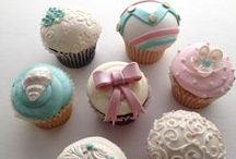Custom Cupcakes / by A Sweet Design Cakes & Cupcakes, Inc