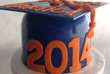 Graduation Cakes/Cupcakes / by A Sweet Design Cakes & Cupcakes, Inc