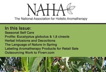 Read: NAHA Journals / Stay current and expand your aroma knowledge! NAHA´s Aromatherapy E-Journal is filled with articles written by respected experts in the field.  Each issue includes diverse topics to broaden your perspective, and valuable resources to augment your knowledge in the field of aromatherapy.  Regular features include safety information, essential oil profiles, book and product reviews.  Find US and International Aromatherapy Events!  This is a superb resource for anyone interested in essential oils.  / by Liz Fulcher