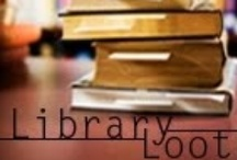 LIBRARY LOVE! / My library card can beat-up (my) credit card...should have learned this a long time ago! / by Sharon Anderson