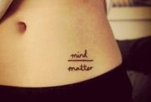Tattoo/Piercing Ideas / by Megan Linch