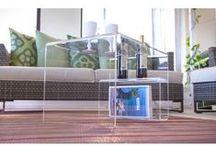 Tavolino moderno in plexiglass / Moderno, elegante ed innovativo. Queste le caratteristiche del nuovo tavolino in plexiglass teasparente Casper. Dalle linee moderne, e' il tavolino ideale per mantenere in ordine le riviste e le vostre bottiglie di vino. #vino #tavolino #plexiglass #minimal #salotto #design #designtrasparente #trasparente #roma #verona / by Designtrasparente online shop