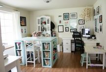 Spaces to get your craft on..... / by Lynn Randolph