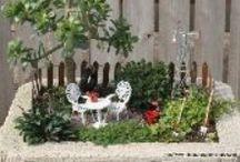 Garden ~ Miniature / Miniature Gardens / by Organic Gardens Network™