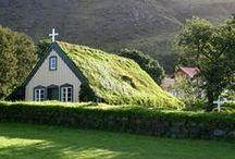 Garden ~ Green Roofs / Gardening - Green Roofs / by Organic Gardens Network™