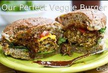 Food ~ Veggie Burgers / by Organic Gardens Network™