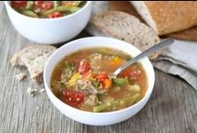 Food ~ Soups & Stews / Soups, stews, chowders / by Organic Gardens Network™