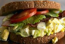 Food ~ Sandwiches & Wraps / An array of yummy wraps and sandwiches / by Organic Gardens Network™